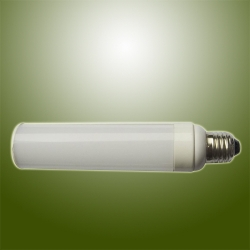 12W high Power SMD LED PL Lamp with Horizontal Plug Base Rotatable Body