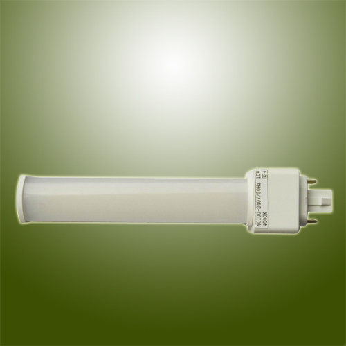 9W high Power SMD LED PL Lamp with Horizontal Plug Base Rotatable Body