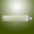 7W high Power SMD LED PL Lamp with Horizontal Plug Base Rotatable Body